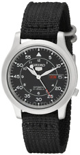 Seiko 5 SNK809 Automatic Military Watch W/Box & Papers. No Customs (UK)