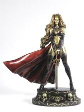 CS Moore Lady Death Faux Bronze Traditional Version Statue Factory Sealed