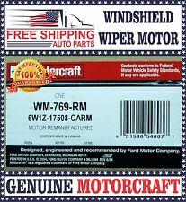 Re-Manufatured Motorcraft Windshield Wiper Motor WM769RM Ford Lincoln