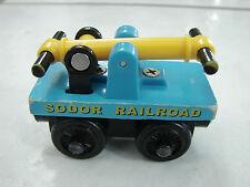 Thomas the Train Wooden Sodor Railroad Hand car 2000 Britt Allcroft used