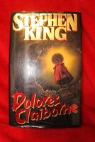 vtg Dolores Claiborne Stephen King (1993, Hardcover) Horror Scary Nightmare Book