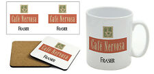 Frasier - Cafe Nervosa - Mug & Coaster Set