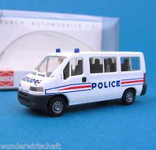 Busch H0 47357 CITROEN JUMPER Bus Police Polizei Frankreich HO 1:87 OVP box