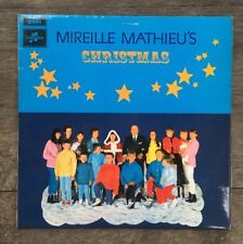 Mireille Mathieu's Christmas UK Vinyl Lp Columbia SCX 6369 Stereo 1968 In French