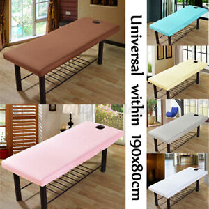 190x70cm Massage Bed Table Elastic Fitted Spa Bed Sheet Salon Couch Bed Cover