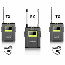 Saramonic UWMIC9 Dual Channel UHF Wireless Lavalier Microphone System