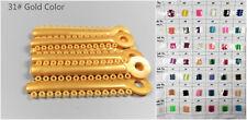 1Pack Dental Orthodontic Ligature Ties Ortho Elastic Power Tie 31# Gold Color