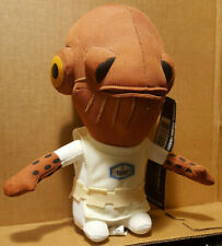 Star Wars Super Deformed Plush Admiral Ackbar Celebration IV Underground Toys