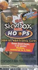 2004-05 Skybox Hoops Auto/Jersey/Patch 1/1 Hot HOBBY Pack TIM DUNCAN DWYANE WADE