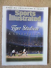 Detroit Tigers Stadium Special Sports Illustrated Issue 1999 No Label