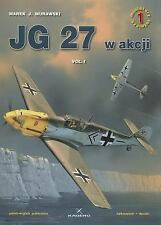 WW2 German Jagdgeschwader JG 27 w akcji, Vol.1 Reference Book