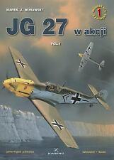 WW2 German Jagdgeschwader JG 27 w akcji, Vol.1 Reference Book