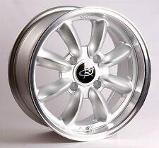 Silver 15X7 +30 Rota Rb 4X100 Wheels Fits Mini Cooper S Jcw Bmw 2002 E30 E21 E10