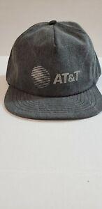AT&T Company Giveaway Grey Adjustable Snapback Trucker Hat / Cap NEW