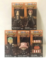 One Piece WCF World Collectable Figure Treasure rally Meramera 5 set Ace JAPAN