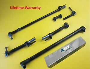 XRF Inner Outer Tie Rod Drag Link STEERING Set FORD F-250 F-350 Super Duty 05-17