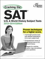 Princeton Review SAT- US & World History Subject Test Prep Guide 2013-14 Edition