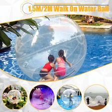 2M Inflatable Water Walking Ball 0.8mm PVC Fun Backyard Lawns Beach US
