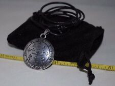 Archangel Uriel Sigil Seal of King Solomon Talisman Pendant Charm Necklace