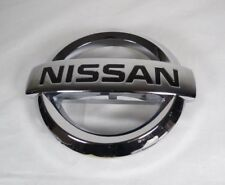 NISSAN GRILLE EMBLEM FRONT GRILL CHROME BADGE sign symbol logo name