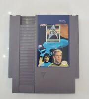 Star Trek 25th Anniversary Great Label Collector Rare Nes (Nintendo) Game.