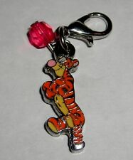 DISNEY WINNIE THE POOH TIGGER RED STONE LOBSTER CLASP CHARM