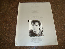 KEN WAHL in WISEGUY and TAKING OF BEVERLY HILLS 1992 Emmy ad as Vinnie Terranova