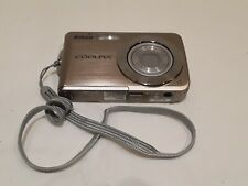 Nikon COOLPIX S210 8.0MP Digital Camera - Brush bronze