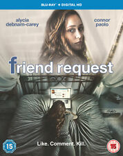 Friend Request [Includes Digital Download] [2016] [Region Free] (Blu-ray)