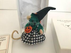 Deb Canham Halloween Mini Mice WANDA MOUSE, 3 inches #113 - MINT in Box
