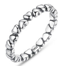 Heart Love Zircon Crystal Engagement Finger Ring Wedding Band Ring Jewelry Ne GT 7