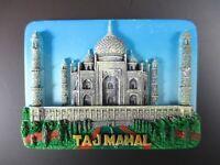 Taj Mahal Indien India,Fridge Poly Magnet Reise Travel Souvenir,Neu,(99)