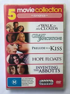 5 Romantic Movies - Region 4 - Hope Floats, Inventing the Abbotts..
