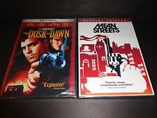FROM DUSK TILL DAWN & MEAN STREETS-2 DVDs-HARVEY KEITEL, GEORGE CLOONEY, DE NIRO