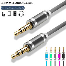 Premium Stereo Headphone Wire Speaker Aux Cord Audio Cable Male to Male Car