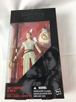 Hasbro Star Wars: TFA The Black Series 6-Inch Rey & BB-8 LIGHTSABER VARIANT NIB