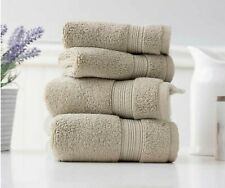 Charisma 100% Hygrocotton 4-piece Hand and Washcloth Towel Set (Light Brown)