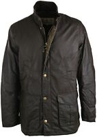 Barbour Hereford Wax Jacket in Olive