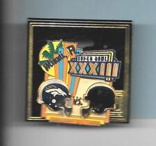 Atlanta Falcons/Denver Broncos Super Bowl XXXCIII Pin Miami