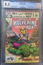 What if 31 Wolverine had killed the Hulk? cgc 8.5