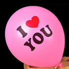 10pcs,12inch I love you, love balloon - courtship, anniversary, Valentine's Day