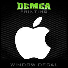 Apple - Personalized Window Car Decal  - 5""