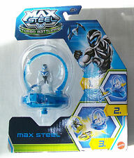 MAX STEEL Turbo Battlers Toy. Contains 4cm Figure. Mattel Reference Y1394