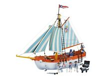 Playmobil Piratas Goleta Marine Schooner Master and Commander Ref 6348 - 3740 3