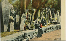 TÜRKEI ISTANBUL / CONSTANTINOPLE 1915 ungebr. farbige RP AK Cimitiere de Scutari