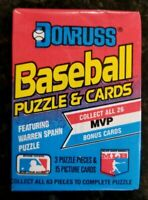 1989 Donruss Baseball Wax Pack (X1) - Puzzle & Cards - Unopened