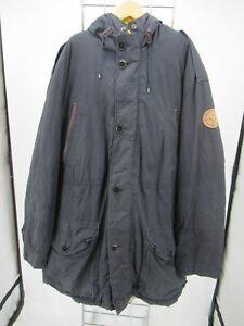 I7874 VTG Men's Polo Ralph Lauren Button-Down Hooded Insulated Jacket