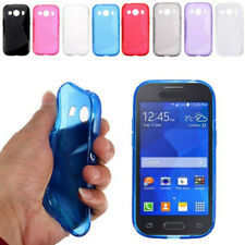 S-Line Silicon Gel Shockproof Case For Samsung Galaxy Ace, Ace 2, Ace 3, Ace 4