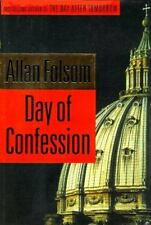 Day of Confession by Allan Folsom (1998, Hardcover) First Edition