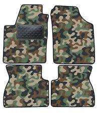 Armee-Tarnungs Autoteppich Autofußmatten Auto-Matten für Kia Picanto I 2007-2011